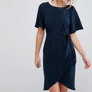 Pencil wrap dress
